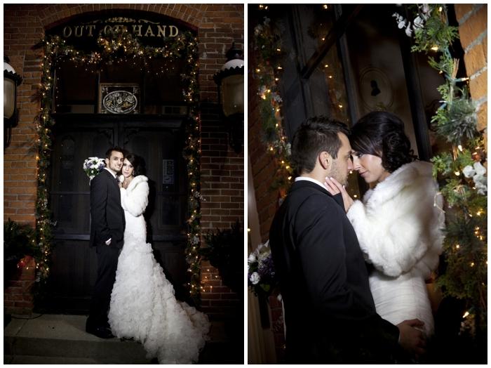 New Year's Eve Wedding/winter wedding/nightime