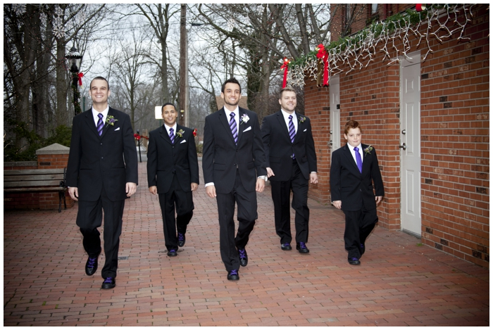 New Year's Eve Wedding/winter wedding/Mens Warehouse