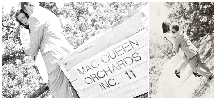Mac Queen Orchard/apple orchard/green engagement/field enagegment