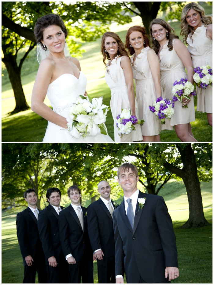 Toledo Country Club wedding