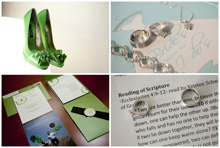 vintage inspired, green wedding, lime green, romantic wedding