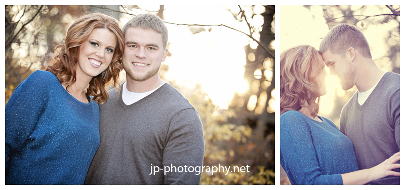 Fall engagement session, Toledo Botanical Gardens