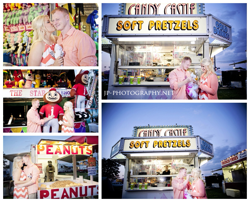 carnival, fair engagement session